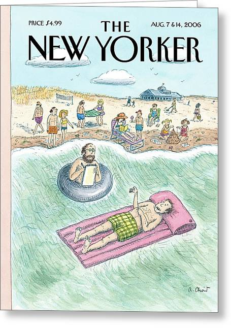 New Yorker August 7th, 2006 Greeting Card