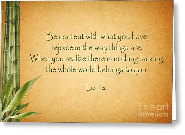 114- Lao Tzu Greeting Card
