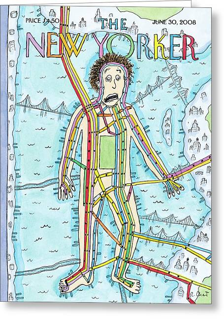 New Yorker June 30th, 2008 Greeting Card