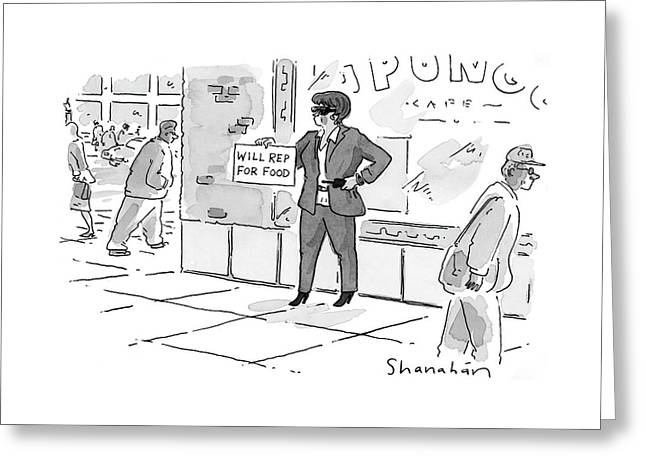 New Yorker April 24th, 2000 Greeting Card