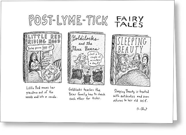 Post-lyme-tick Fairy Tales Greeting Card