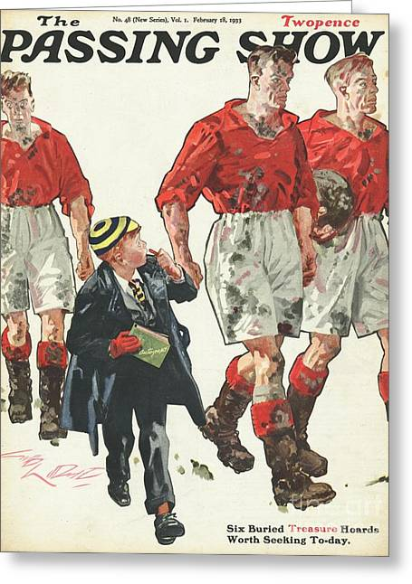 1930s,uk,the Passing Show,magazine Cover Greeting Card by The Advertising Archives
