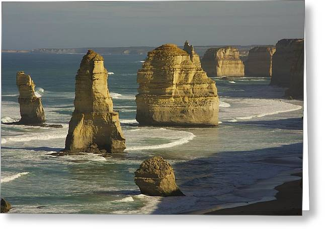 12 Apostles #4 Greeting Card by Stuart Litoff