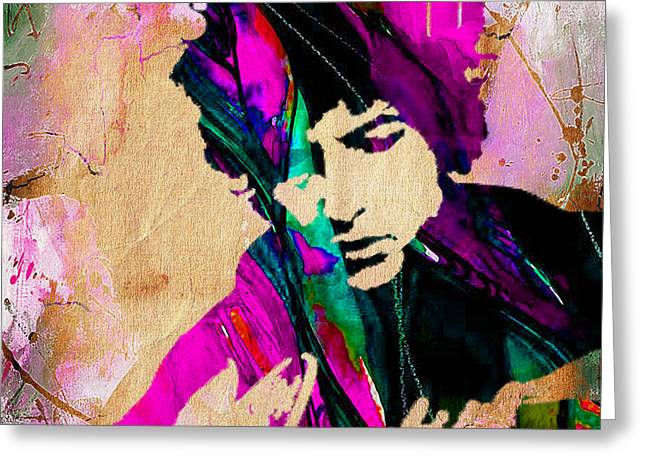 Bob Dylan Collection Greeting Card