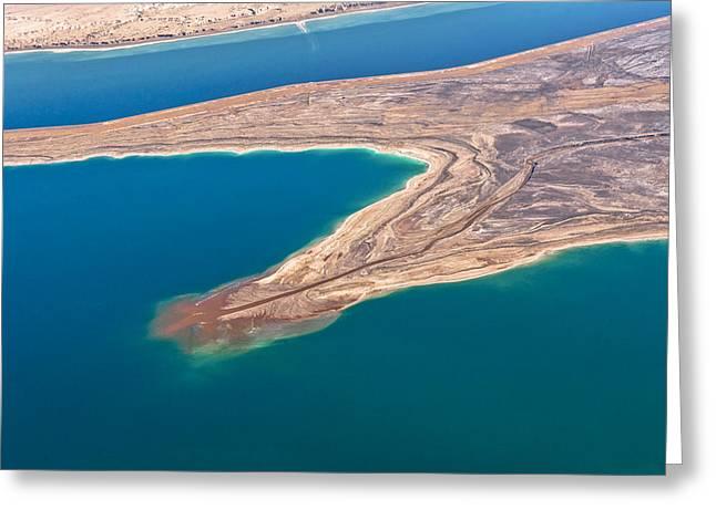 Dead Sea, Israel Greeting Card
