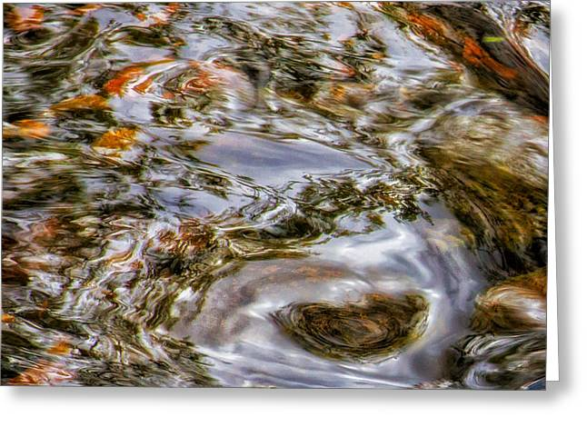 Holy Waters Of Sedona Az By Joanne Bartone Greeting Card