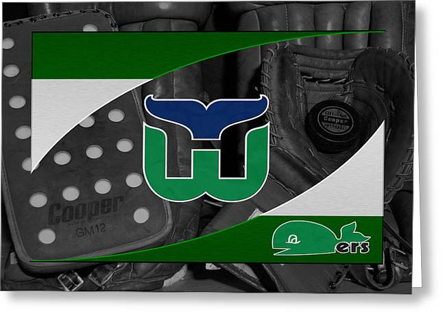 Hartford Whalers Greeting Card