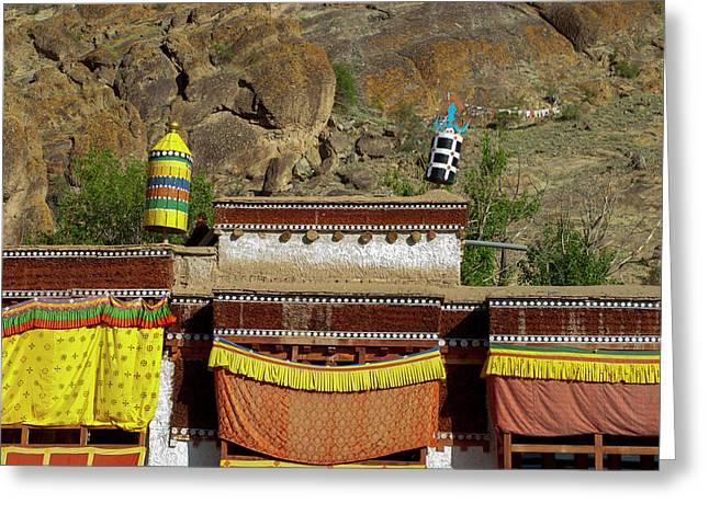 India, Jammu & Kashmir, Ladakh Greeting Card