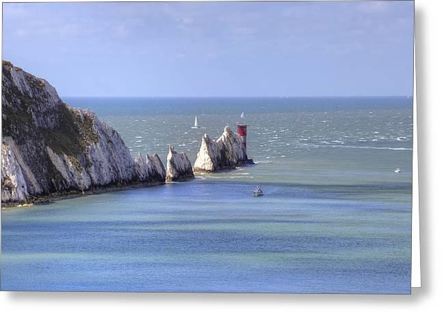 Isle Of Wight Greeting Card