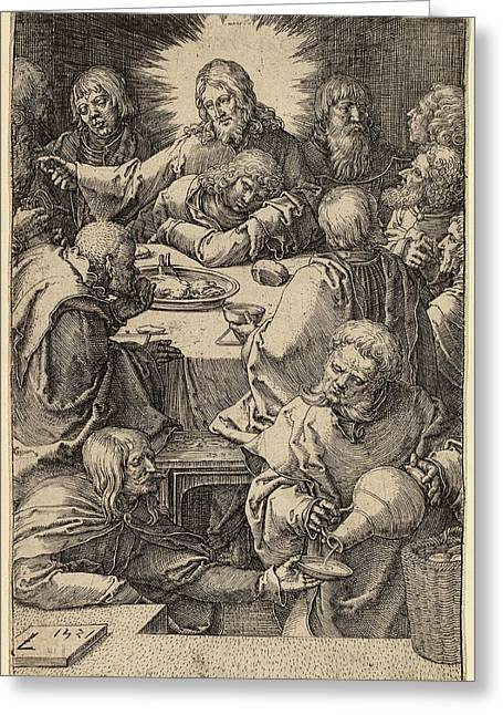 Lucas Van Leyden Netherlandish, 1489-1494 - 1533 Greeting Card by Quint Lox