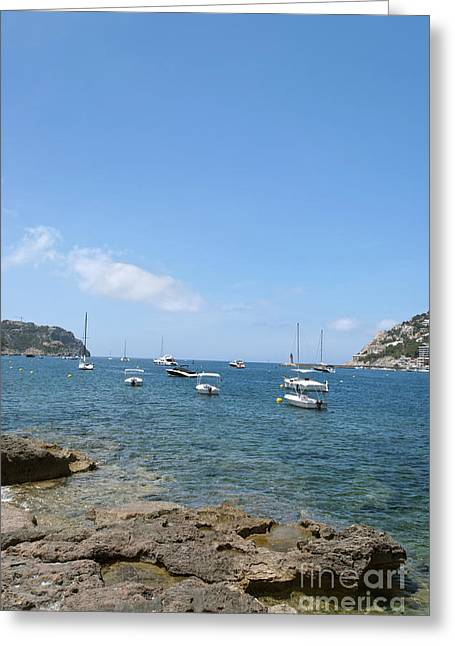 Majorca Greeting Card by Design Windmill