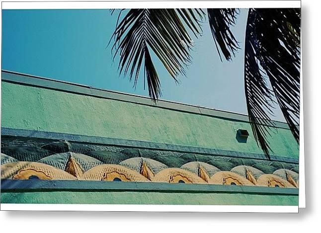 {miami Beach's Art Deco}  In 1979 Greeting Card