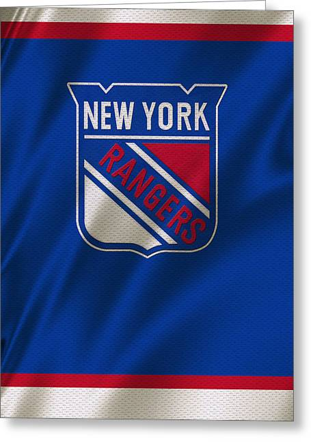 New York Rangers Greeting Card