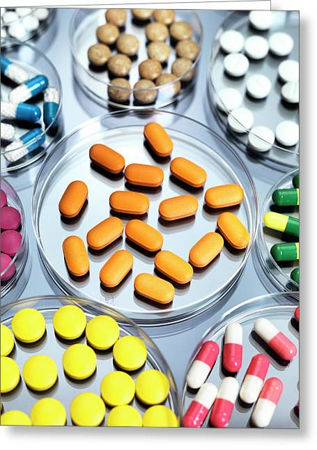 Pharmaceutical Research Greeting Card