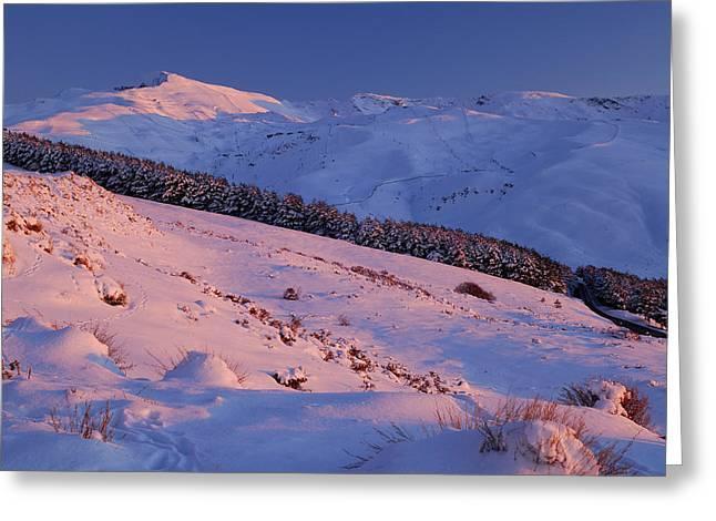 Sierra Nevada Greeting Card by Guido Montanes Castillo