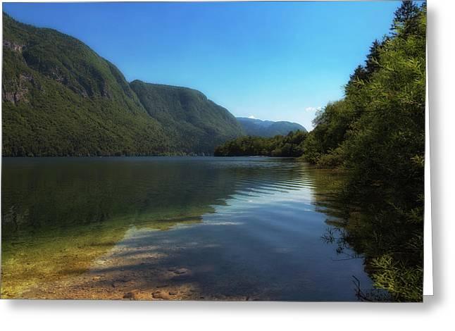 Slovenia.  Triglav National Park Greeting Card