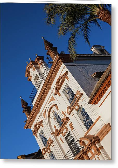 Spain, Andalucia Region, Seville Greeting Card by Walter Bibikow
