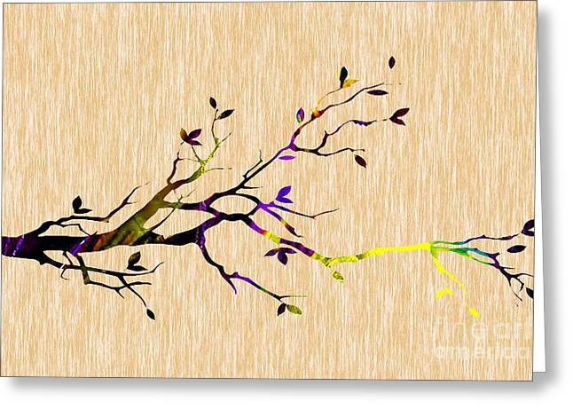 Tree Branch Collection Greeting Card by Marvin Blaine