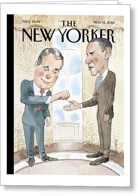 New Yorker November 15th, 2010 Greeting Card