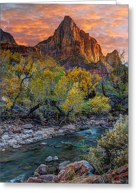 Zion National Park Greeting Card
