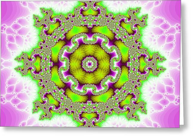 The Kaleidoscope Greeting Card by Odon Czintos