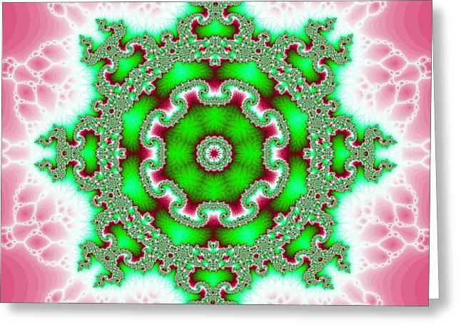 The Kaleidoscope Greeting Card by Odon Czintos