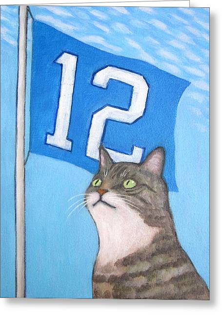 12th Cat #1 Greeting Card