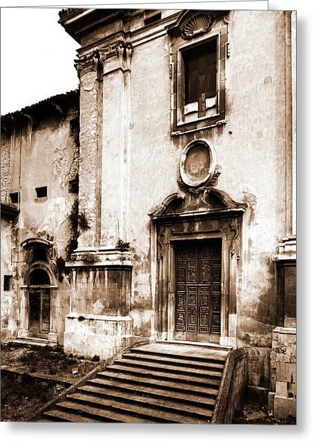 Abruzzo, Aquila, Sulmona Greeting Card