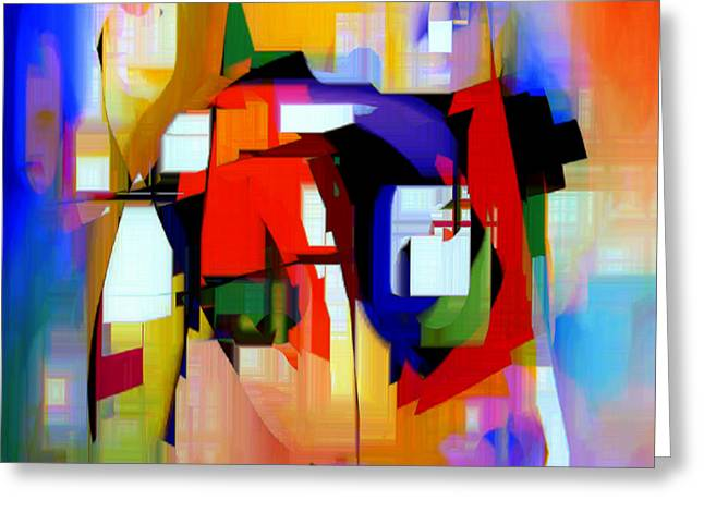 Abstract Series Iv Greeting Card