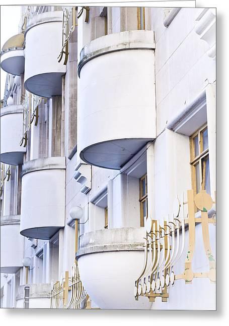 Balconies Greeting Card