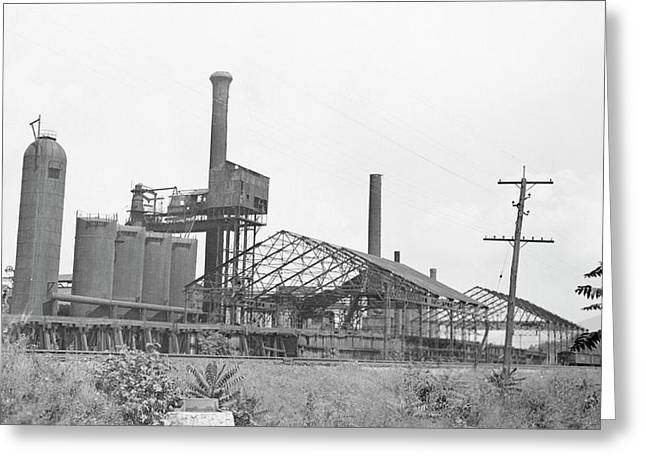 Blast Furnace Greeting Card
