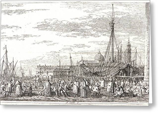 Canaletto Aka Antonio Canale Italian Greeting Card by Litz Collection