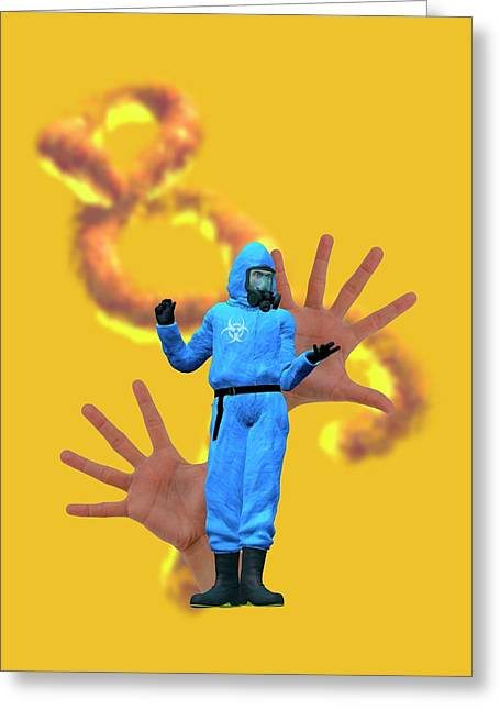 Ebola Epidemic Greeting Card