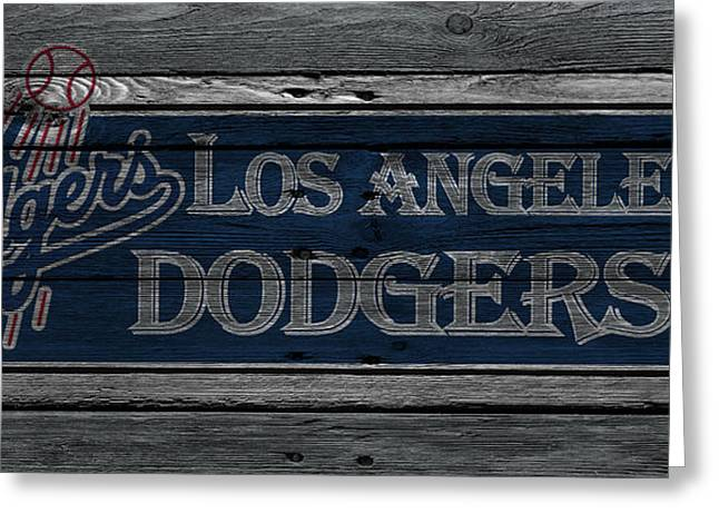 Los Angeles Dodgers Greeting Card