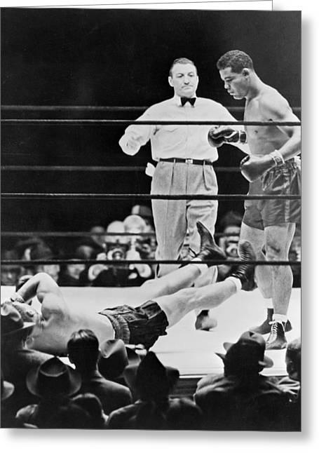 Muhammad Ali (1942-2016) Greeting Card by Granger