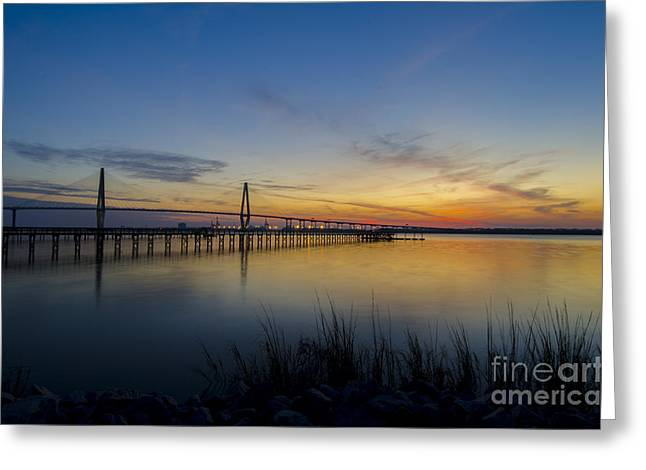 Greeting Card featuring the photograph Peacefull Hues Of Orange And Yellow  by Dale Powell