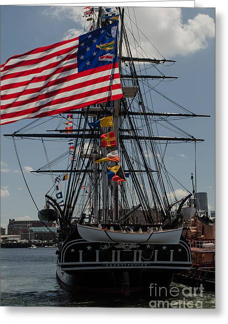 Greeting Card featuring the photograph 13 Stars by Mike Ste Marie