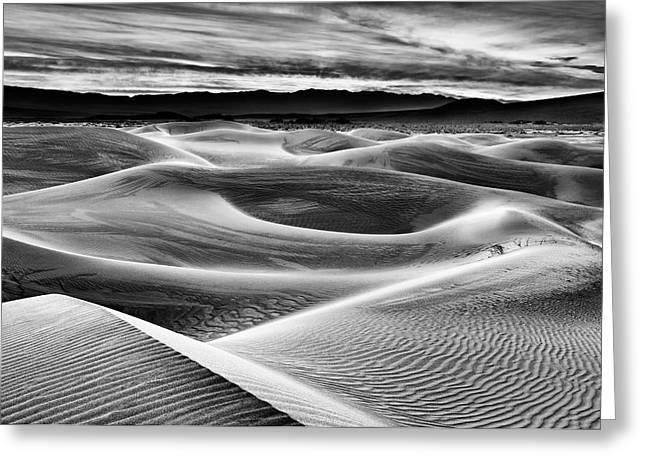 Usa, California, Death Valley National Greeting Card by Ann Collins