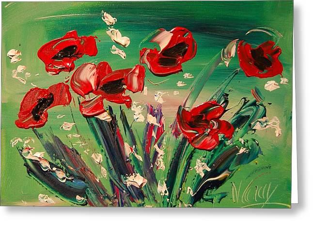Flowers Greeting Card by Mark Kazav
