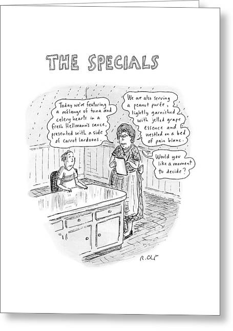 The Specials Greeting Card