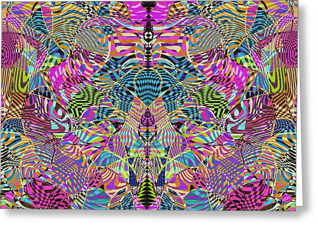1332 Abstract Thought Greeting Card