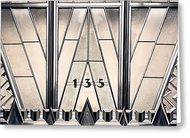 135 E 42nd - Chrysler Building Greeting Card