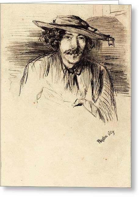 James Mcneill Whistler American, 1834 - 1903 Greeting Card