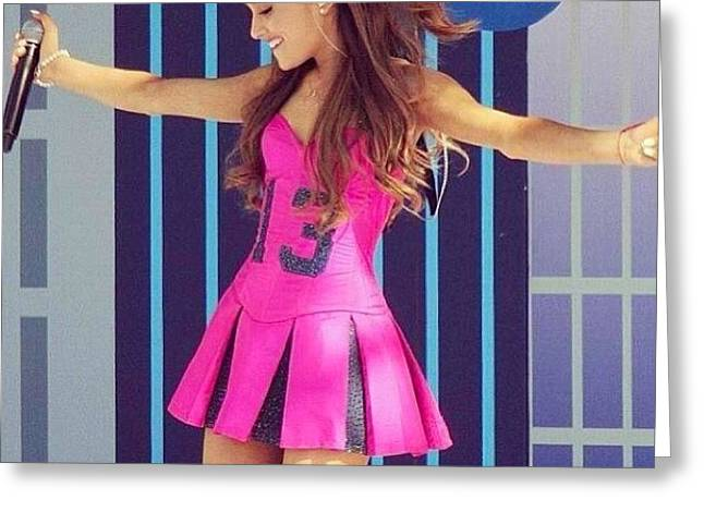 13💁||#arianagrande Greeting Card