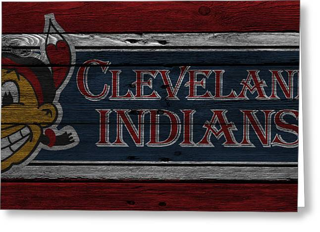 Cleveland Indians Greeting Card