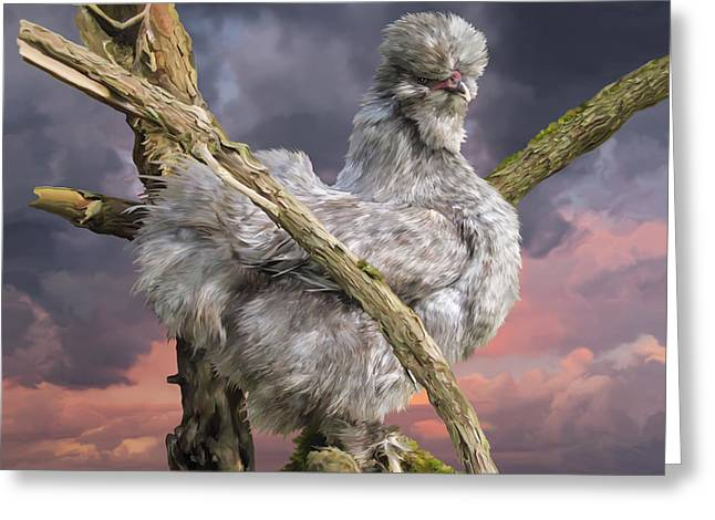 14. Cuckoo Bush Greeting Card