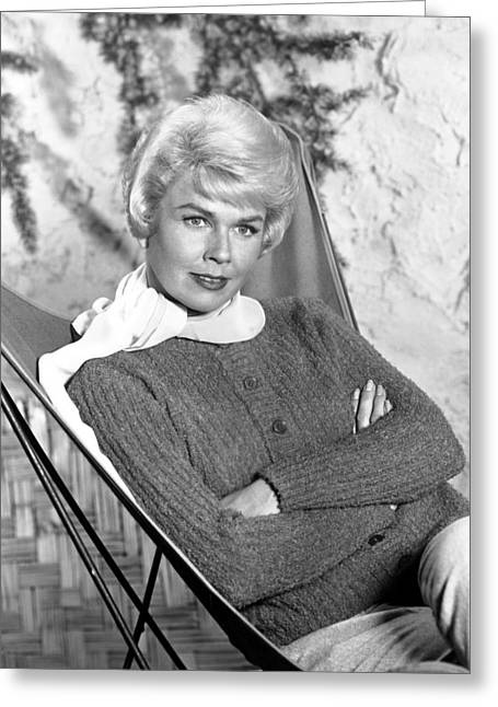 Doris Day Greeting Card by Silver Screen