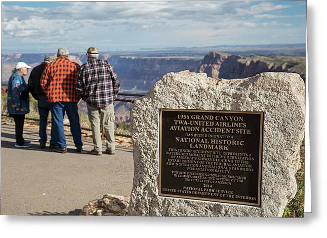 Grand Canyon Greeting Card by Jim West