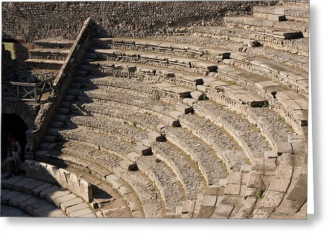 Italy, Campania, Pompeii Greeting Card by Jaynes Gallery