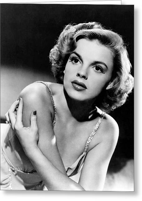 Judy Garland Greeting Card by Silver Screen